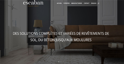 Escaban website getting new look