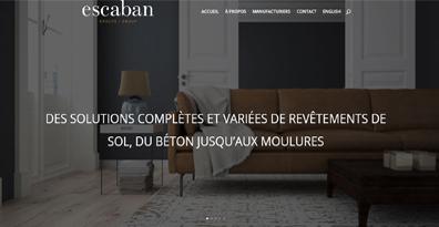 Le site web de l'agence escaban fait peau neuve